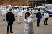 GEZIN - Başkan Aras Açıklaması 'Personelim Sahadayken Ben Eve Kapanamam'