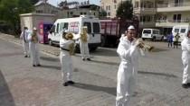 FETHIYE BELEDIYESI - Muğla'da Bando Takımı Evde Kalanlar İçin Konser Verdi