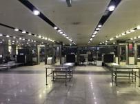 SABİHA GÖKÇEN HAVALİMANI - Sabiha Gökçen Havalimanı'nda Tüm Uçuşlar Geçici Süreliğine Durduruldu