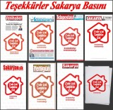 BASıN İLAN KURUMU - Sakarya'da Yerel Gazeteler Ortak Manşetle Okuyucuların Karşısına Çıktı