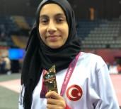 MİLLİ SPORCU - Şampiyon Tekvandocu Meryem İyin'den 'Evde Kal' Çağrısı