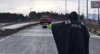 TRAFİK DENETİMİ - Sarıkamış'ta Ateş Ölçerli Trafik Kontrolü