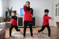 KARATE - Uzaktan Karate Eğitimlerine Başladılar