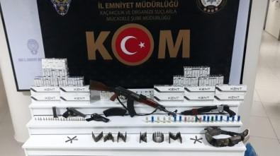 Van'da Silah Ve Mühimmat Ele Geçirildi