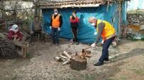 Yaşlı Adamın Odunlarını Vefa Ekibi Kırdı