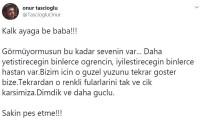 ÇAPA TIP FAKÜLTESİ HASTANESİ - Dahiliye Profesörü Cemil Taşcıoğlu'nun Oğlundan Duygulandıran Paylaşım