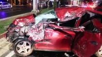 MUSTAFA POLAT - Elazığ'da İki Otomobil Çarpıştı Açıklaması 3 Yaralı