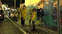 MUSTAFA YAMAN - Mardin'de Cadde Ve Sokaklar Yıkandı