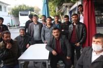 İNŞAAT İŞÇİLERİ - Memleketlerinden Otobüs Getirttiler, 500 TL Ücret İstenince Gidemediler
