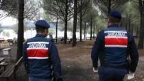 BALIK TUTMAK - Muğla'da Piknik Ve Mesire Alanları Boş Kaldı