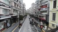 MECIDIYE - Samsun'da Vatandaşlar Çağrıya Uydu, Boş Sokaklar Havadan Görüntülendi