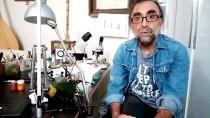 MINYATÜR - Şırınga İğnesinin Ucuna Seramikten 2 Milimetrelik 'Doktor Heykeli'