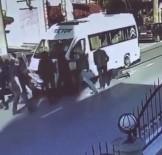 SERVİS ARACI - Feci kaza sonrası darp kamerada'