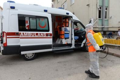 Ambulanslara Korona Önlemi