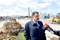 KAMULAŞTIRMA - Başkan Gürkan, Yol Çalışmalarını İnceledi