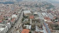 KAPALI ÇARŞI - Bursa'da Tarihi Çarşı Ve Hanlar Bölgesi 6 Nisan'a Kadar Kapalı Olacak