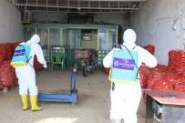 ÖZLEM ÇERÇIOĞLU - Büyükşehir Acarlar Halinde Dezenfeksiyon İşlemi Yaptı