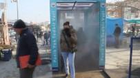 Ezine'de Dezenfekte Tüneli Ve Termal Kamera Kuruldu