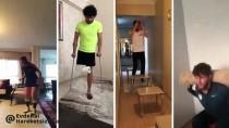 RIDVAN DİLMEN - Gençlik Ve Spor Bakanı Mehmet Muharrem Kasapoğlu'ndan 'Evde Kal, Hareketsiz Kalma' Çağrısı