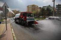 ERTUĞRUL GAZI - Haliliye'de Dezenfekte Çalışmaları Sürüyor