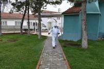 İnönü Belediyesi Dezenfekte Çalışmalarını Sürdürüyor