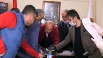ESNAF ODASı BAŞKANı - İş İnsanı Sadettin Saran'dan Kırıkkale Esnafına Yardım
