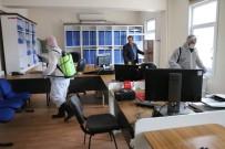 KALDIRIMLAR - İspir Belediyesi'nden Korona Virüs Tedbirleri