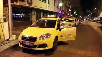 İzmir'de Taksiler İçin Plaka Sınırlaması Uygulanmaya Başlandı