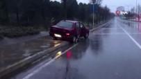 GÖRGÜ TANIĞI - Kaza Yaptı Aracını Bırakıp Ormana Kaçtı