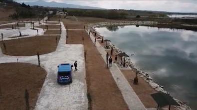 Kırıkkale'de Drone İle Korona Virüs Denetimleri