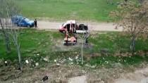 KARAAHMETLI - Kırıkkale'de Jandarmadan Drone İle Kovid-19 Denetimi