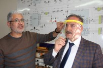 ADıYAMAN ÜNIVERSITESI - Öğretmenler Evlerinde Siper Maske Üretiyor