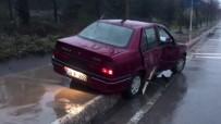 GÖRGÜ TANIĞI - (Özel) Kaza Yaptı Aracını Bırakıp Ormana Kaçtı