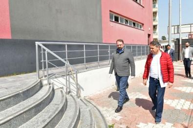 Spor Tesisinin Misafirhanesi Sağlık Emekçilerine Açıldı