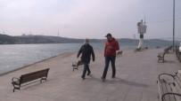 İSTANBUL EMNİYETİ - Yasağa Rağmen Sahilde Yürüyüşe Çıkanlara Ceza