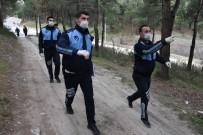 BALIK TUTMAK - Amasya'da Zabıtadan Drone İle Denetim