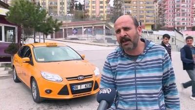 Başkentte İki Taksi Durağının Plaka Kısıtlamasında 'Tek-Çift' Şanssızlığı