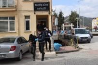 ELEKTRİK KABLOSU - Camiden Musluk Çalan Hırsızlar Yakalandı