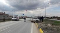 Eskişehir'de Trafik Kazası Açıklaması 1 Yaralı