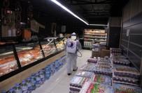 NANO - Kartal Belediyesi'nin Dezenfekte Çalışmaları Marketlerde Devam Etti