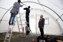 ALI ACAR - Kemer'de Hastanelere Sahra Çadırı Kuruluyor