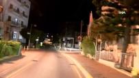 KUZEY KIBRIS - KKTC'de Sokağa Çıkma Yasağı Başladı