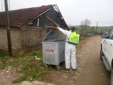 Köyler De Dezenfekte Ediliyor