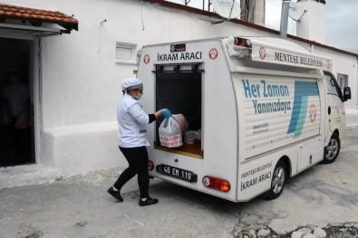 Menteşe'de İhtiyaç Sahibi Aileler Unutulmadı