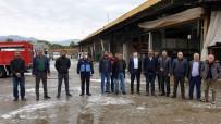 ÖZLEM ÇERÇIOĞLU - Nazilli'de Dezenfekte Çalışmaları Sürüyor