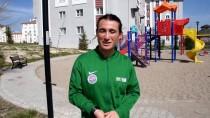 MİLLİ SPORCU - Şampiyon Atlet, Sokak Antrenmanlarıyla Formunu Koruyor