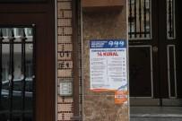SULTANGAZİ BELEDİYESİ - Sultangazi'de Apartman Girişlerine Korona Virüs Bilgilendirmesi