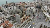 TAKSIM - Taksim'de AKM'nin Oditoryumu Havadan Görüntülendi