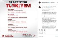 HALUK LEVENT - Ünlü İsimlerden 'Biz Bize Yeteriz Türkiyem' Kampanyasına Destek