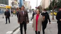 FUNDA KOCABIYIK - Uşak'ta Zorunlu Olmadıkça Caddeye Çıkan Vatandaşlara Para Cezası Kesilecek